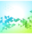 abstract geometric background with triangle vector image vector image