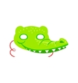 Crocodile Animal Head Mask Kids Carnival Disguise vector image vector image