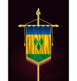Saint Vincent and the Grenadines Festive Banner vector image vector image