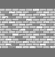 seamless brick wall texture vector image