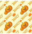 seamless pattern for packing on Halloween vector image