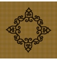Geometric decorative ornament for an ornament on a vector image