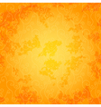 Bright orange seamless spotty pattern vector image