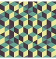 Abstract 3d background - wall of cubes vector image