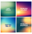 abstract multicolored blurred background vector image vector image
