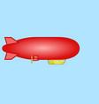 airship icon vector image vector image