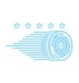 auto service repair maintenance stars emblem vector image