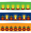 Diwali banner for website vector image vector image