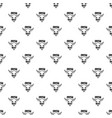 fresh meat pattern seamless vector image
