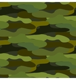 Khaki camouflage seamless pattern vector image vector image