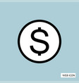 money icon money icon eps10 money icon money vector image vector image