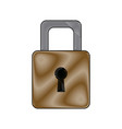 security protection padlock keyhole close symbol vector image vector image