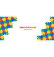 world autism awareness day background
