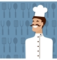 Cook people occupation vector image