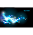 abstract blue neon background