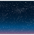background starry night sky eps 10 vector image vector image