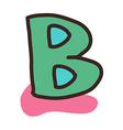 icon alphabet vector image vector image