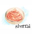 kimchi korean food vector image vector image