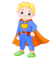 Super Boy vector image vector image