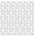 white geometric texture seamless vector image vector image