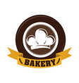 Bakery design over white background vector image vector image