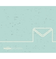 Creative envelope Art vector image vector image