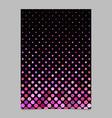 geometric dot pattern brochure background vector image vector image
