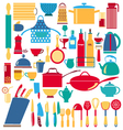 kitchen and restaurant icon vector image vector image
