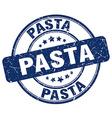 pasta stamp vector image