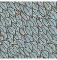 Seamless winter texture with leaf in blue theme vector image vector image