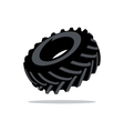 Tyre Cartoon vector image vector image