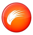 Wing icon flat style vector image