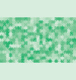 375 green background puzzle jigsaw puzzle banner vector image vector image