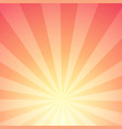 abstract background of sunlight with stripes vector image vector image