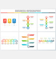 abstract infographics number options template 3 4 vector image vector image