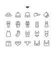 clothes ui pixel perfect well-crafted thin vector image