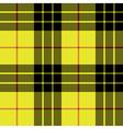 Macleod tartan kilt fabric texture plaid seamless vector image vector image