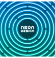 neon original background design for cover flyer vector image