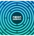 neon original background design for cover flyer vector image