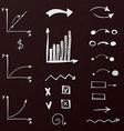 Simple design elements vector image vector image