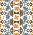 Background abstract flowers pattern vector image vector image