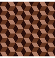 chocolate mosaic pattern vector image vector image