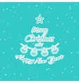 Christmas Pattern Fir vector image