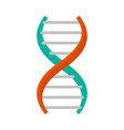 dna formula icon flat style vector image vector image