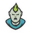 zombie man cartoon vector image vector image
