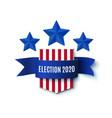 2020 american presedential election background vector image vector image