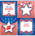 independence day holiday backgrounds vector image vector image