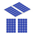 renewable energy solar energy solar panel vector image