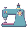 sewing machine icon cartoon style vector image vector image