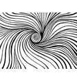 twisted doodle line art patterns coloring page vector image vector image